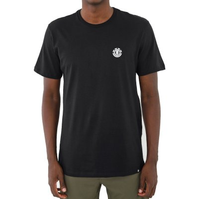 Camiseta Element Logo Basic Masculina Preto