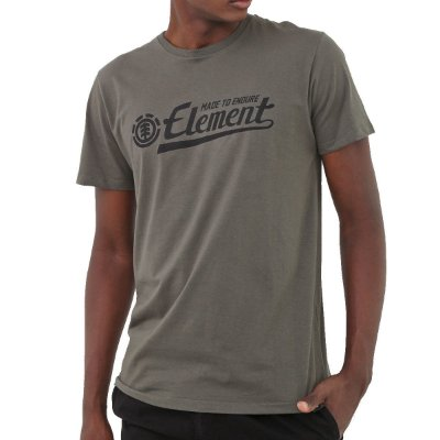 Camiseta Element Signature Masculina Verde