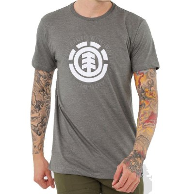 Camiseta Element Seal Masculina Verde