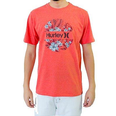 Camiseta Hurley Crush Masculina Vermelho