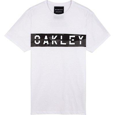 Camiseta Oakley MFG Panel SP Masculina Branco