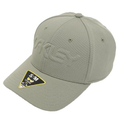 Boné Oakley 6 Panel Stretch Embossed Verde