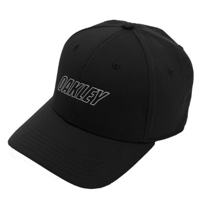Boné Oakley 6 Panel Waved Hat Preto