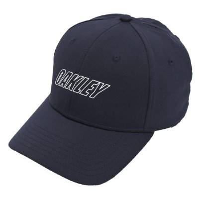 Boné Oakley 6 Panel Waved Hat Azul Marinho