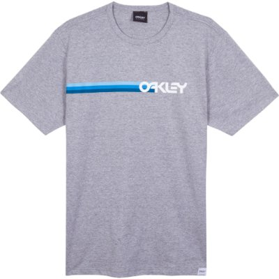 Camiseta Oakley Mark II 80'S Masculina Cinza Claro