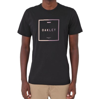 Camiseta Oakley Fade Masculina Preto