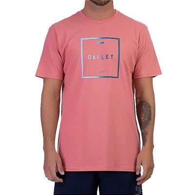 Camiseta Oakley Fade Masculina Rosa