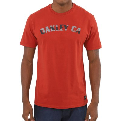 Camiseta Oakley O-Classic Camo SS Masculina Vermelho