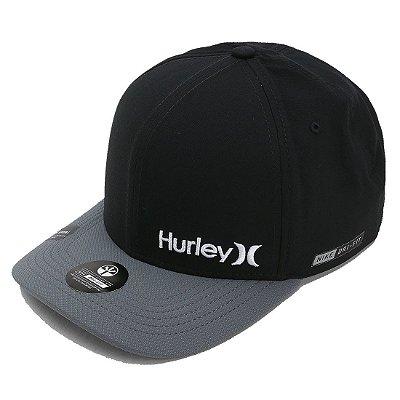 Boné Hurley Aba Curva Mini Dri Fit Preto