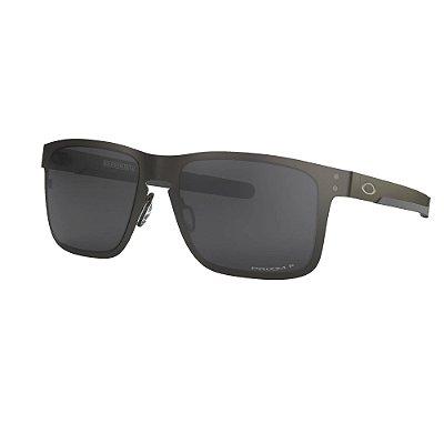 Óculos de Sol Oakley Holbrook Metal Matte Gunmetal W/ Prizm Black Polarized