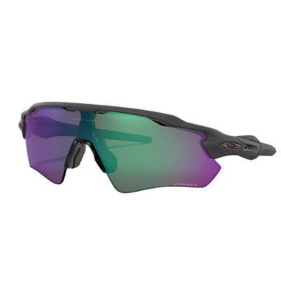 Óculos de Sol Oakley Radar EV Path Steel W/ Prizm Road Jade