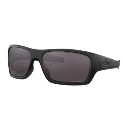 Óculos de Sol Oakley Turbine Matte Black W/ Prizm Grey Polarized