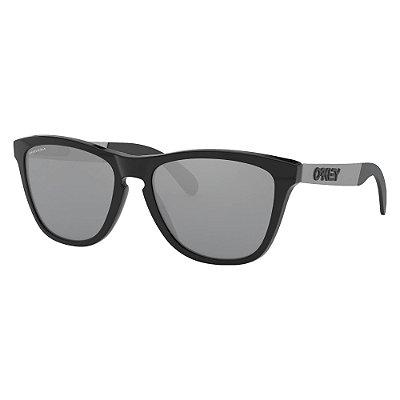 Óculos de Sol Oakley Frogskins Mix Polished Black W/ Prizm Black
