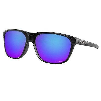 Óculos de Sol Oakley Anorak Polished Black W/ Prizm Sapphire Polarized