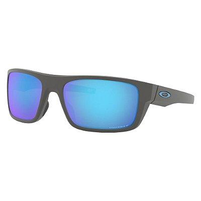 Óculos de Sol Oakley Drop Point Matte Dark Grey W/ Prizm Sapphire Polarized
