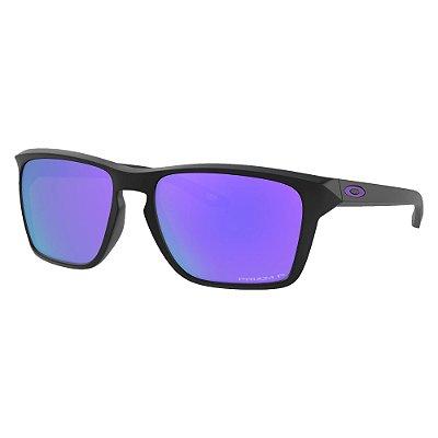 Óculos de Sol Oakley Sylas Matte Black W/ Prizm Violet Polarized