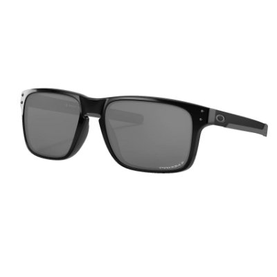 Óculos de Sol Oakley Holbrook Mix Polished Black W/ Prizm Black Polarized
