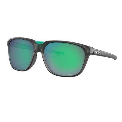 Óculos de Sol Oakley Anorak Matte Grey Smoke W/ Prizm Jade