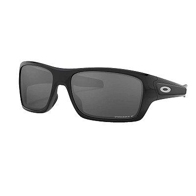 Óculos de Sol Oakley Turbine Polished Black W/ Prizm Black Polarized