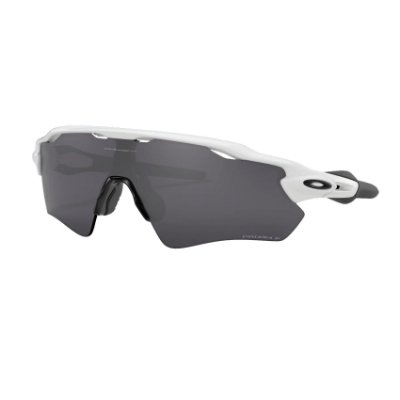 Óculos de Sol Oakley Radar EV Path Polished White W/ Prizm Black Polarized