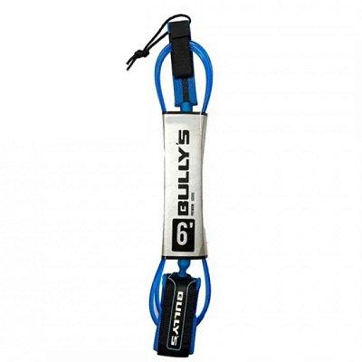 Leash Bullys 6' Premium - 5mm Competição Azul