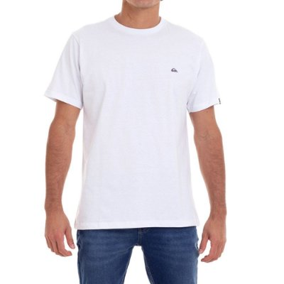 Camiseta Quiksilver Embroidery Masculina Branco