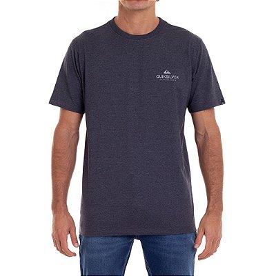 Camiseta Quiksilver Feeling Fine Masculina Cinza Escuro