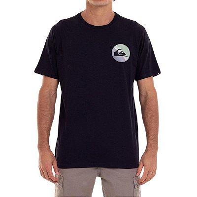 Camiseta Quiksilver Slab Logo Masculina Preto