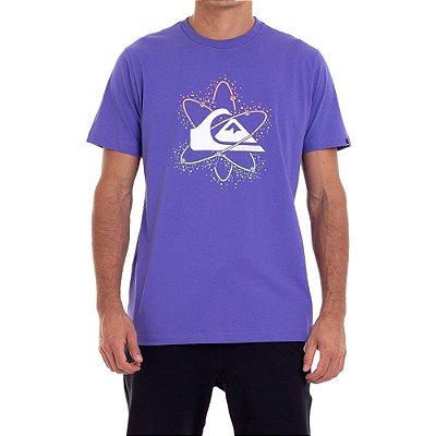 Camiseta Quiksilver Cosmic Sunset Masculina Roxo