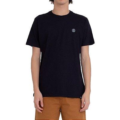Kit 2 Camisetas Element Duo Mini Logo Masculina Preto/Branco