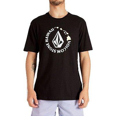 Camiseta Volcom Hi Series Masculina Preto