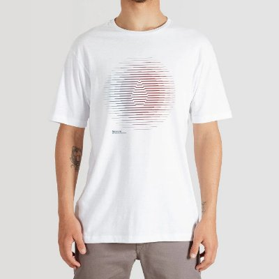 Camiseta Volcom Trepid Masculina Branco