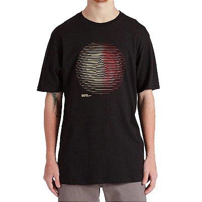 Camiseta Volcom Trepid Masculina Preto