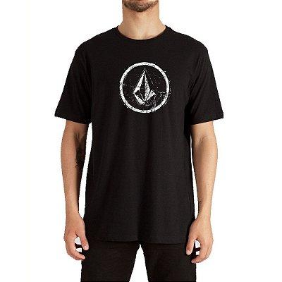 Camiseta Volcom Rampstone Masculina Preto