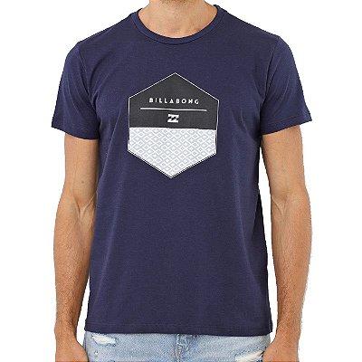 Camiseta Billabong Coaster Masculina Azul Marinho