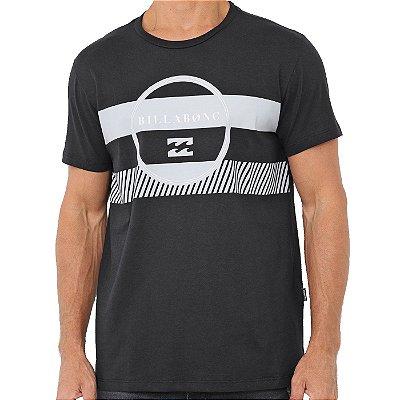 Camiseta Billabong New Stuff Masculina Preto