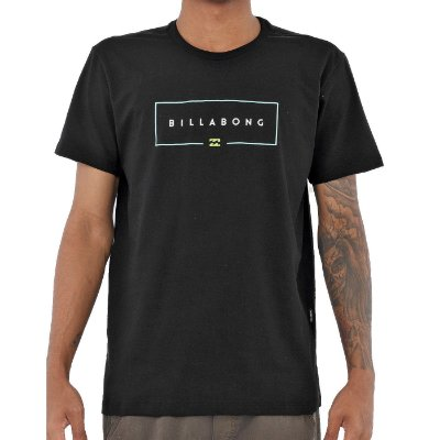 Camiseta Billabong Union Masculina Preto