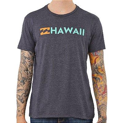 Camiseta Billabong Destination Hi Masculina Cinza Escuro