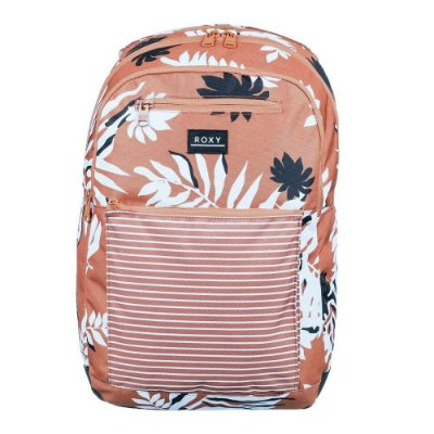 Mochila Roxy Here You Are Printed Rosa