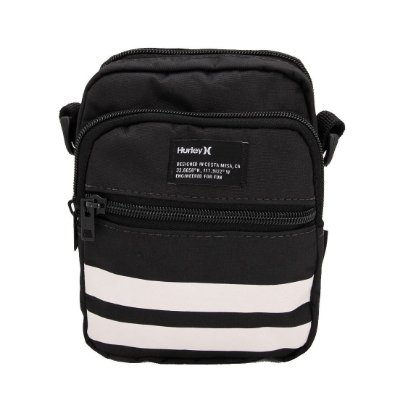Bolsa Hurley Shoulder Bag Block Party Preto