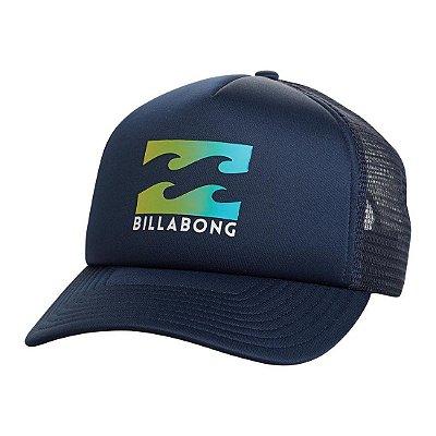 Boné Billabong Podium Trucker Marinho/Verde