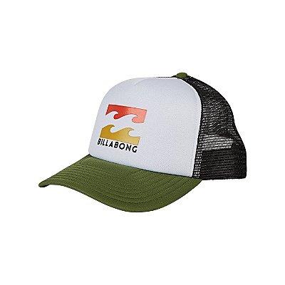 Boné Billabong Podium Trucker Branco/Verde