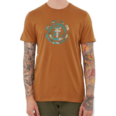 Camiseta Element Water Camo Icon Fill Masculina Marrom