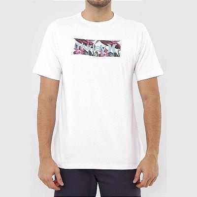 Camiseta Hurley Orchid Masculina Branco