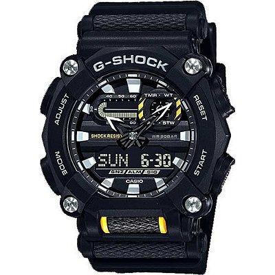 Relógio G-Shock GA-900-1ADR Preto