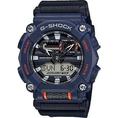 Relógio G-Shock GA-900-2ADR Azul Marinho