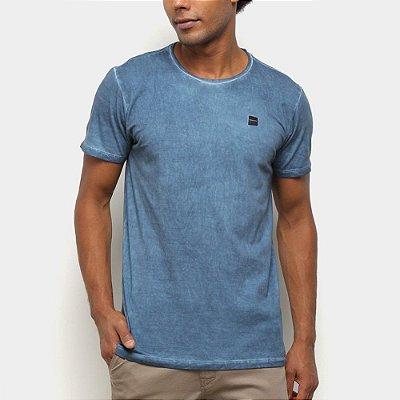 Camiseta Oakley Garage Pack Washed SP Masculina Azul Marinho