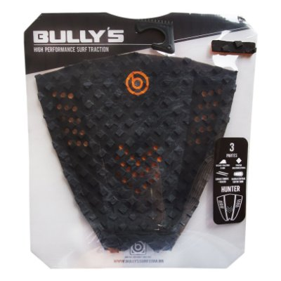 Deck Bullys Hunter Preto/Laranja