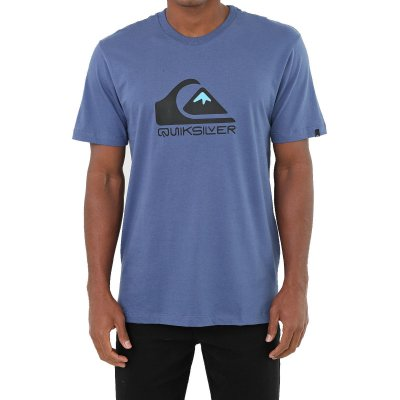 Camiseta Quiksilver Square Me Up Masculina Azul