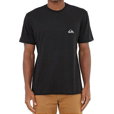 Camiseta Quiksilver Essentials Masculina Preto